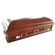 American style funeral cheap wooden caskets and coffins