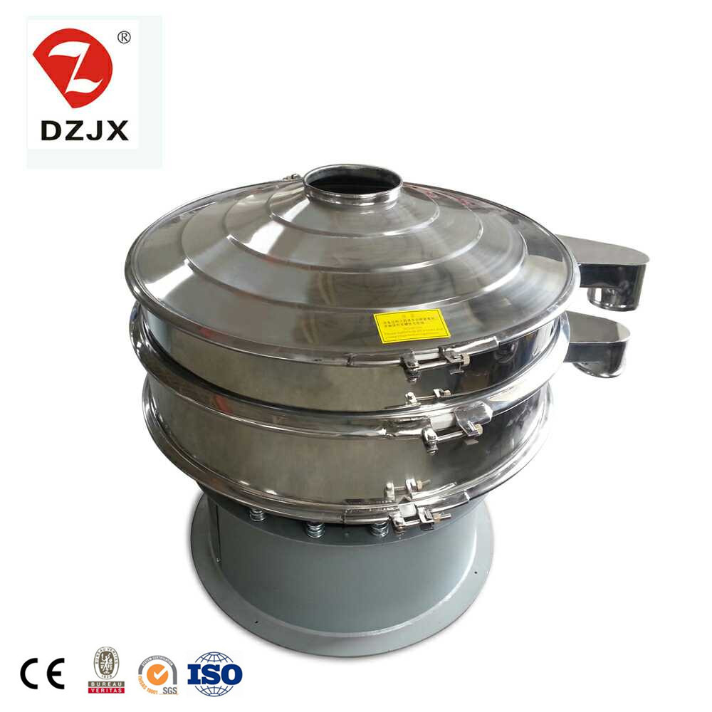 Xinxiang Rotary chinese cleansing tea vibrating screen sieve for food industry