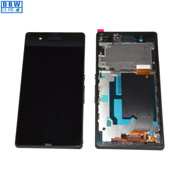 Hot Selling Mobile Phone Touch Screen Digitizer For Sony Xperia <strong>Z</strong> l36h LCD Touch Panel Assembly