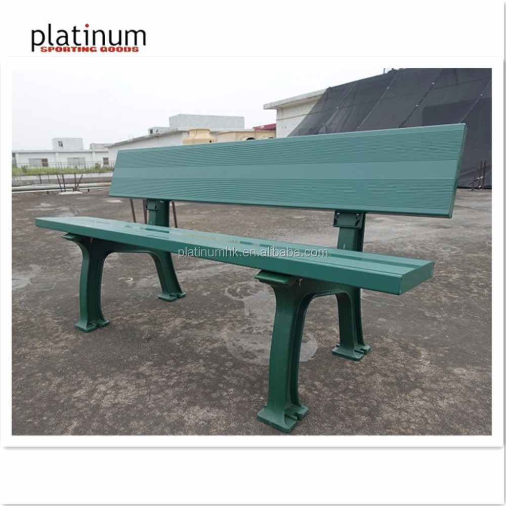 Aluminum & PC tennis bench