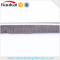 Widely use Best quality standard silicone aluminum window weather strip,adhesive wool pile for sliding door,seal brush stripe