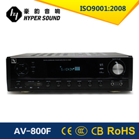 2016 hot selling 5.1ch v12 amplifier with remote control from China market