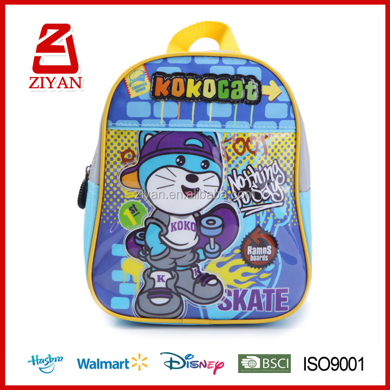 New model cat cartoon images wholesale school bags mochilas for boys