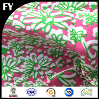 Custom digital 100% tetron cotton fabric