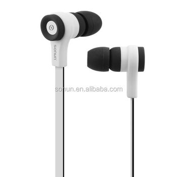 Sonun M10 nice 3.5mm jack wired earphone with volume control