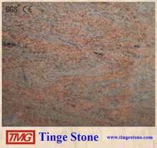 Granite Raw Block Multicolor Red Granite Block