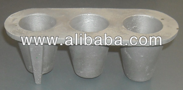Cone fishing sinker mould
