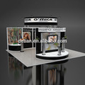 Detian Offer High quality trade show display system expo TV stand exhibition booth