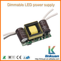 LED adjustable power driver indoor constant current dimmable LED power supply AD04D