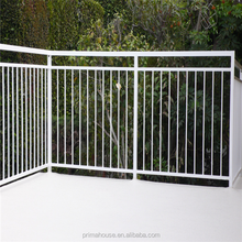 Custom wrought iron staircase railing exterior handrail lowes from china