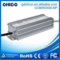 CC-80W2400-MP 80W 2400ma waterproof ip67 led flood light driver