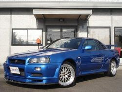 2001 Japanese used cars SKYLINE GT- R 2,600cc ID 2010