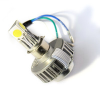 Patent &ROSH&CE&DOT M3 motorcycle led driving lights bi xenon projector lens kit h4 24W 2500 Lumen