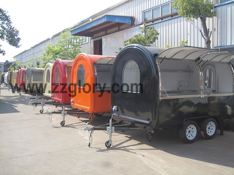 Best Selling Outdoor Mobile Fast Food Truck With Snack Machine