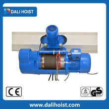Drum With Up Down Stop Switch Electric Wire Rope Hoist Tensioner