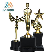 Factory direct sell on stock metal trophies for Wholesale
