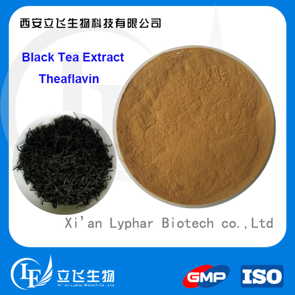 High Quality Black Tea Extract Theaflavin Powder