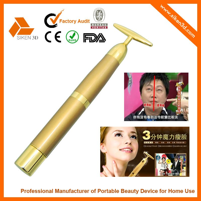 CE&ROHS 24k unique beauty bar soap skin care massager