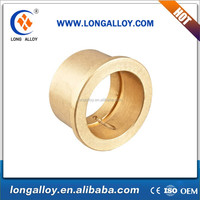 Good quality Casting Copper alloy flanged bushing