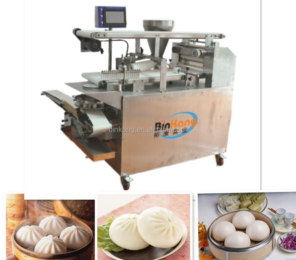 steam bun filling machine/steamed stuffed bun making machine