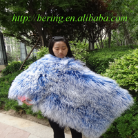 Wholesale Long Hair Tibetan Lamb Fur