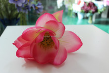 wholesale artificial water lily flower ,fake lotus on sale