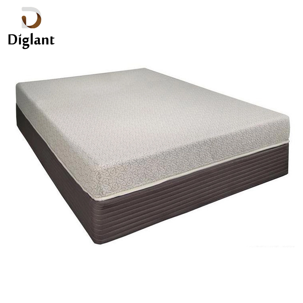 DM032 Diglant Gel Memory Latest Double Fabric Foldable King Size Bed Pocket bedroom furniture portable folding mattress