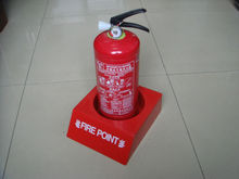 Fire extinguisher single stand, fiberglass fire stand