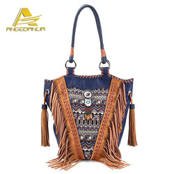 Fancy Ladies Handbag Bohemian Women Bags handmade Embroidered boho hippie gypsy bags multi color