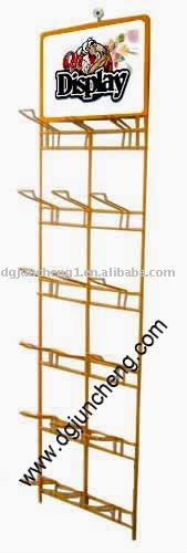 metal retail shop /supermarket socks display rack
