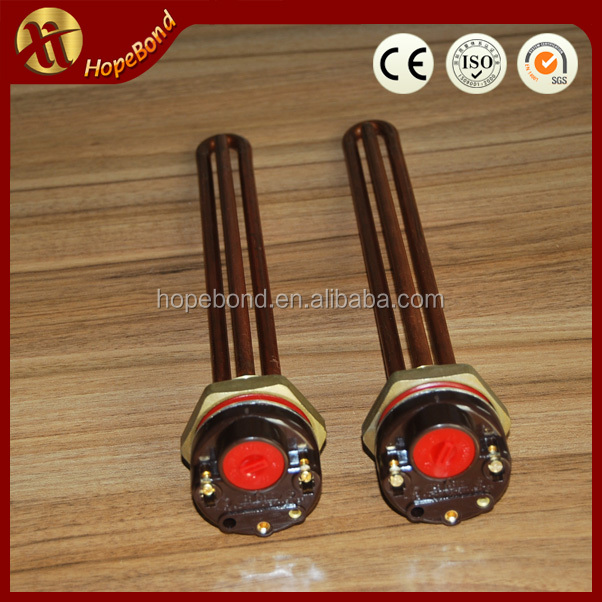 copper coil hot water heating element
