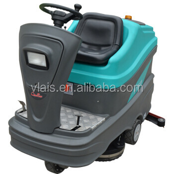 HY75B automatic ride on scrubber dryer machine floor cleaning home depot