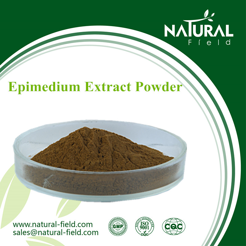 Manufacturer offer epimedium grandiflorum benefits 60% epimedium powder