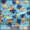 Digital printing custom wholesale minion 100% cotton fabric
