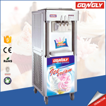 High efficient 40-55L/h Keep-fresh ice cream making machine with aspera compressor