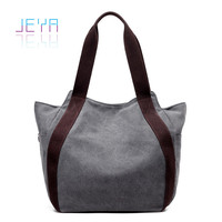 2013 Trendy women canvas bag fashion custom wholesale lady hand bag wholesale