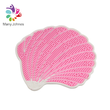 Cleaner Washing Tool Shell Silicone Makeup Brush Cleaning Mat