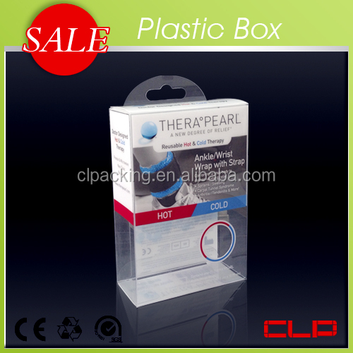 Plastic Customized Size Printing Pink Boxes
