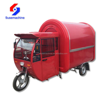 High quality and low price fastfood making motorcycle food cart
