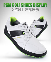 2016 newest design men golf shoes with rubber outsoles