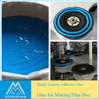 Factory Good quality epoxy adhesive glue for flap disc machine