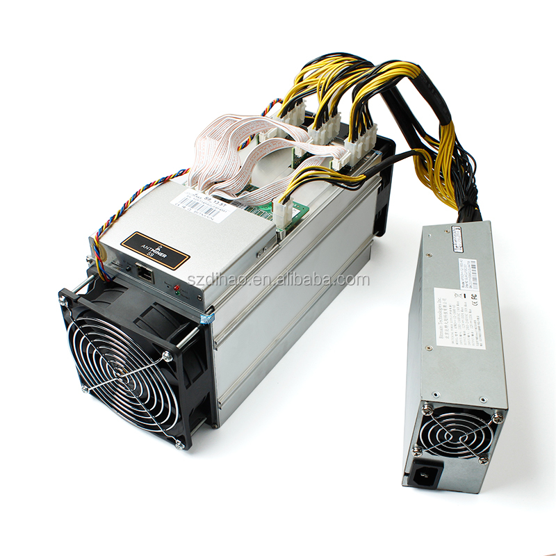 DIHAO 2017 S9 Bitmain S9 Antminer with Power supply 13.5Th/s 14Th/s S9 Antminer