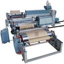 Non woven PP woven sack bopp lamination material box forming one time bag making machine