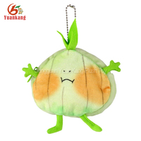 Cute Animals Vegetables Series Onion Plush Zero Wallet Coin Purses Girls kids Wallet