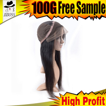 Charming cuticle aligned human hair full lace wig