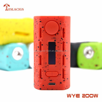 WYE 200W with mod lightweight 64.5g 2018 new product list of electronic devices