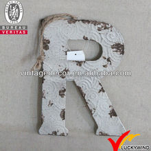 Vintage Rustic Wall Decor Metal Alphabet Letters