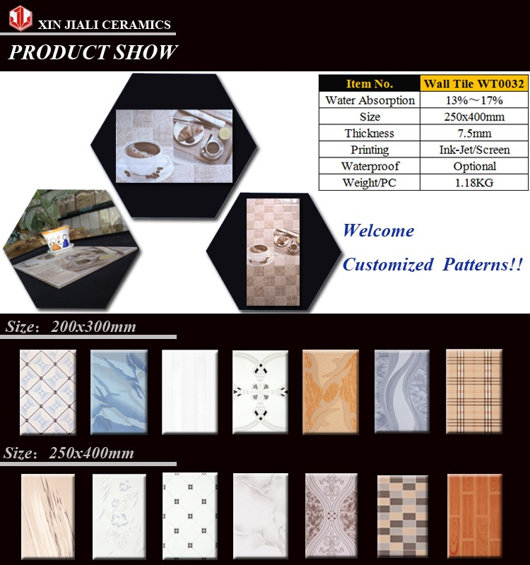 JiaLi Manufacturer Supply WT0031 Cheap Low Price Ceramic Wall Tile