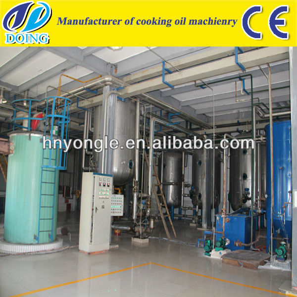 Hot sale biodiesel making machine from uco crude vegeble oil animal oil