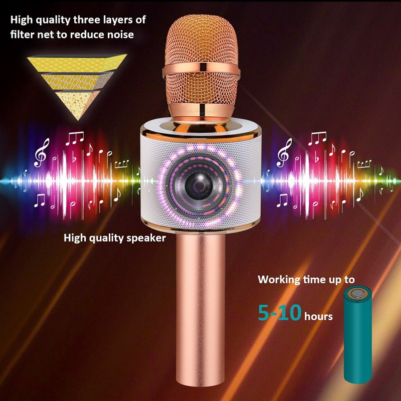 Popular Handheld Smartphone Karaoke Microphone and Speaker - Compatible With Most Karaoke Apps